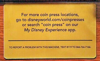 New Machine Info Signs